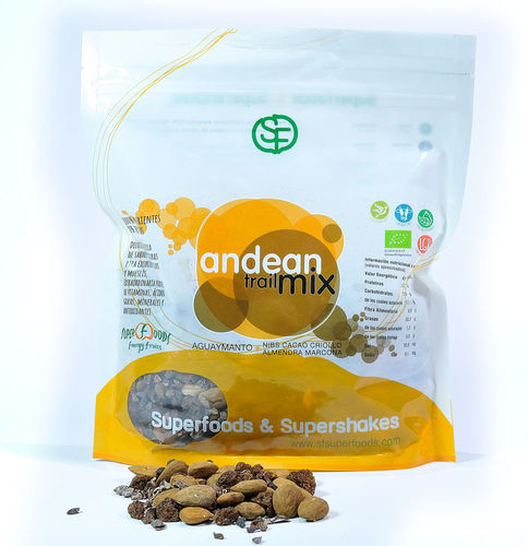 Andean trail mix eco 500g energyfruits tentorium