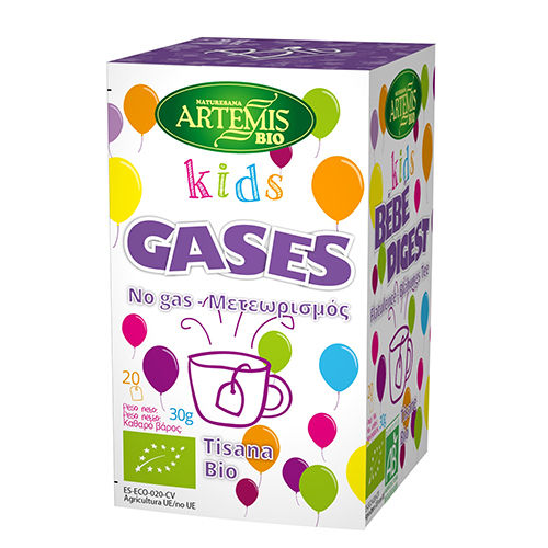 Infusion gases kids 20 unidades bio